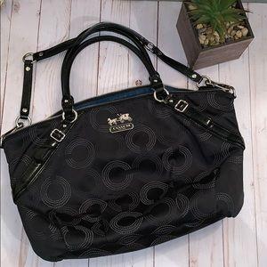 Coach Madison purse F 1093-15957 large Authentic